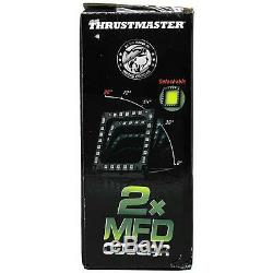Thrustmaster MFD Cougar Pack Flight Control USB Cockpit Panels for PC Gameplay