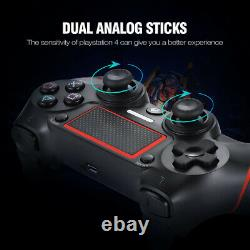 Wireless Controller for PS4 Black/Red
