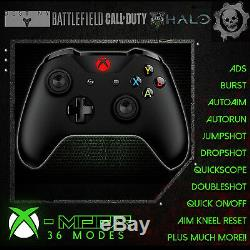XBOX ONE S RAPID FIRE CONTROLLER BEST MOD ON EBAY! RED GUIDE LED CoD