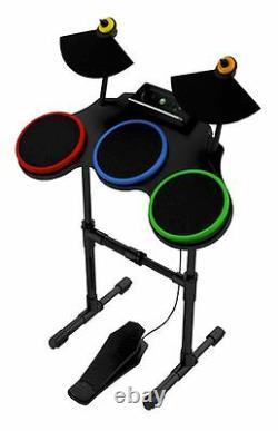 XBox 360 Guitar Hero World Tour Band DRUM KIT SET warriors of rock 1 5 4 drums