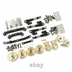 Yeah Racing AXSC-S05 Metal Upgrade Parts Set SCX24 C10 Jeep 133.7mm Wheelbase