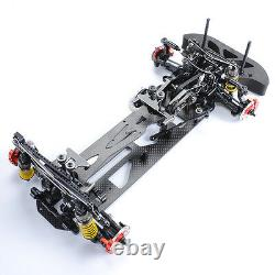1/10 Alloy&carbon 4wd Drift Model Frame Chassis G4 Kit F Electric Rc Racing Car