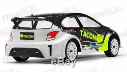 1/12 Tacon Ranger Rc Rallye Voiture Électrique Voiture De Rallye Rtr Black 4 Roues Motrices