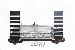 110 Échelle Double Essieu Remorque Kit Pour Rc Rock Crawler Axial Scx10 Trx-4 D90 Camion