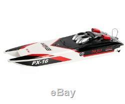 116 Racing Px-16 Tempête Moteur Rc Bateau Super Speed 2ch Catamaran Shaped