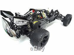 15 Rovan 320a Gaz Essence Buggy Rtr 32cc Hpi Baja 5b Ss Roi Moteur Compatible