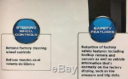 2015 Ford Mustang Up Dash Kit Avec Commande Intégrée / Swc Écran Tactile