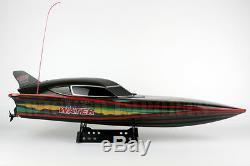 28 Téléguidés Double Moteur Rc S2 7000 Fast Racing Noir Furtif Rs Speed boat