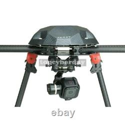 3 Axis Session Caméra Gimbal Ptz Pour Fpv Quadcopter Drone Multicopter Black