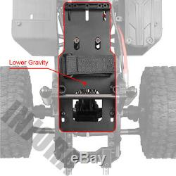 313mm Empattement Rc Crawler Cadre Châssis 1/10 Axial Scx10 / II 90046 90047