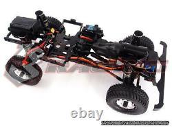 3racing Kit-ex-real 110 4wd Rc Crawler Kit Avec Moteur, 2-speed & No Electronics