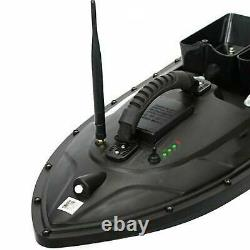 500m Sans Fil Rc Fishing Bait Boat Speedboat 2 Moteurs Simple Commande À Main