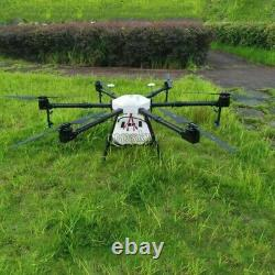 6-axe Agriculture Drone 1600mm Agricultural Uav Drone Frame 16kg 15l Tpys Tank Tpys