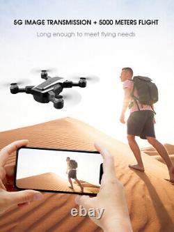 6k Rc Drone Gps 5g Drone Hd Dual Camera Wifi Fpv Pliable Rc Quadcopter Drone