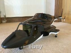 Aligner Trex 600e Pro Rc Hélicoptère, Chargeur, Contrôleur Radio Et Airwolf Fuselage