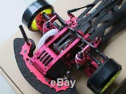 Alliage & Carbon Sakura D3 Cs 1/10 4wd Drift Racing Car Cadre Body & Avant Une Façon