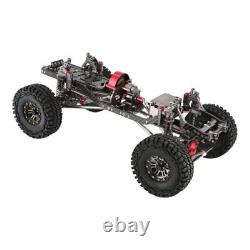Aluminium Alloy Rc Rock Crawler Châssis Frame Kit Pour 1/10 Axial Scx10 4rm Voiture