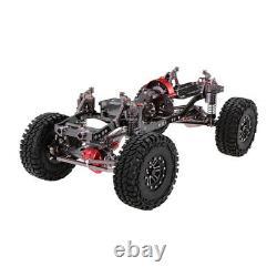 Aluminium Alloy Rc Rock Crawler Châssis Kit Pour 110 Axial Scx10 4rm Voiture