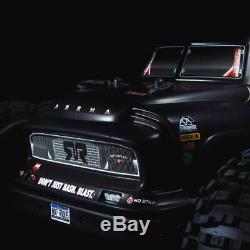 Arrma 1/8 Notorious 6s Blx 4 Roues Motrices Brushless Stunt Truck Rtr Noir Ara106044t1