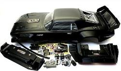 Arrma Felony 6s Body Shell Black Resto-mod Muscle Street Bash Couvrir Ara7617v2