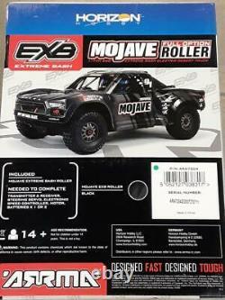 Arrma Mojave 6s Exb Extreme Bash Roller 1/7 4wd Désert Camion Noir Ara7204 Nouveau