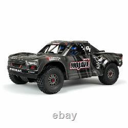 Arrma Mojave 6s Exb Extreme Bash Roller 1/7 4x4 Rc Desert Truck Black Ara7204