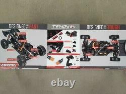 Arrma Typhon 6s Blx Brushless Rtr 1/8 4x4 Buggy Rouge/noir V5 Ara8606v5 Flambant Neuf