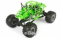 Axial 1/10 Smt10 Grave Digger 4 Wheel Drive Monster Truck Prêt À Fonctionner Axi03019