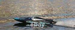Black Marlin Brushless Rtr Rc Boat With 3s Lipo Battery Pack (regarder La Vidéo)