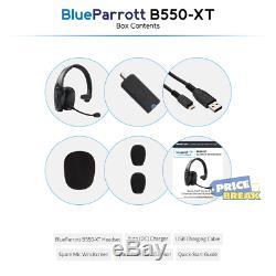 Blueparrott B550-xt Oreillette Bluetooth Sans Fil À Commande Vocale