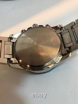 Citizen Mens Eco Drive Chrono A-t Radio Controlled Bracelet Regarder At4008-51e