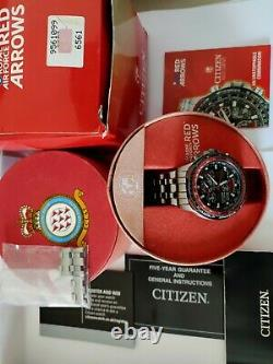 Citizen Skyhawk A-t Titanium Red Arrows Eco-drive Radio Controlled Men's Watch
