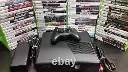 Console De Jeu Vidéo Microsoft Xbox 360 S E 250gb, Contrôleur Hdmi Avec 5 Jeux Gratuits