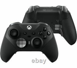 Contrôleur Officiel Microsoft Fst-00003 Xbox X S & One Elite Série 2 Noir