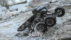 Dépasser Rc 1/8 Mad Couple 8x8 Rock Crawler Off-road Monster Truck Rtr 2.4ghz Nouveau
