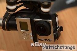 Dji Hexakopter F 550 Mit Naza V2, Zenmuse H3-3d Gimbal Und Gopro 3+ Noir Wie Neu