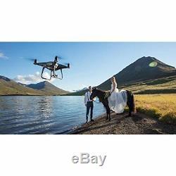 Dji Phantom 4 Pro + Obsidian Quadcopter Drone Gorillaspoke Gratuite P & P Ire & Uk