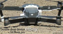 Double Dropper Pour Dji Pro Pour La Pêche Mavic Drone Et Des Missions De Sauvetage