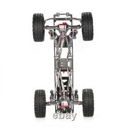 Durable Rc Rock Crawler Chassis Frame Kit S'adapte Pour 1/10 Axial Scx10 4wd Car