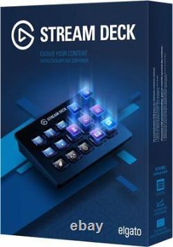 Elgato Stream Deck Usb Live Content Creation Controller 15 Clés LCD Personnalisables