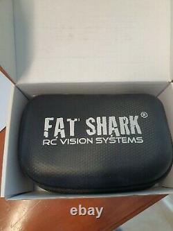 Fat Shark Attitude V3 3d Fpv Lunettes Casque 5g8 Vga Drone, Rc, Etc