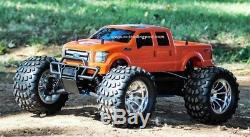 Ford F-250 2011 Redcat Volcan S30 4x4 1/10 45 + Mph Nitro Rc Monster Truck