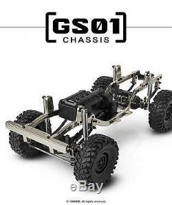 Gmade Gs01 Sawback 4 Roues Motrices Échelle 1/10 Rock Crawler Kit Gm52000
