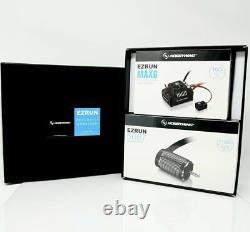 Hobbywing Ezrun Brushless Max6 Esc + Max6 5687sl 1100kv Black Motor Combo