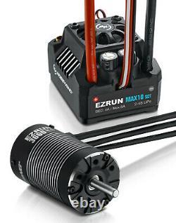 Hobbywing Ezrun Max10 Sct Esc / 3660 Sl Brushless 3200kv G2 Motor 110 4x4