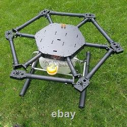 Hot Fpv Hexacopter 6 Axis Carbon Fiber Plant Drone 1600mm F/ Agricultural Tpys1