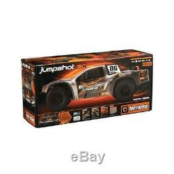 Hpi 116103 1/10 Jumpshot Sc Short Course Truck 2wd Rtr Avec Radio / Batterie