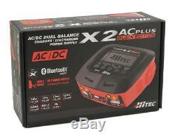 Hrc44270 Hitec X2 Ac Plus Black Edition Ac / DC Rc Télécommande Chargeur De Batterie
