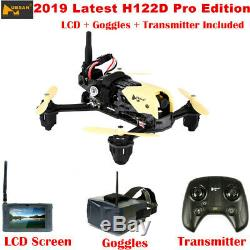 Hubsan H122d Pro X4 Storm 5.8g Fpv Micro Racing Drone Quadcopter 720p + Lunettes