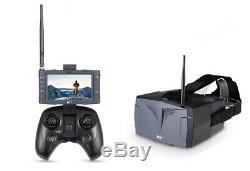 Hubsan X4 Tempête Fpv Racing Drone Avec Écran LCD Moniteur Vidéo Et Lunettes Fpv